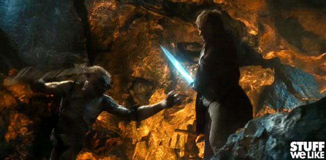 The Hobbit Blue Sword