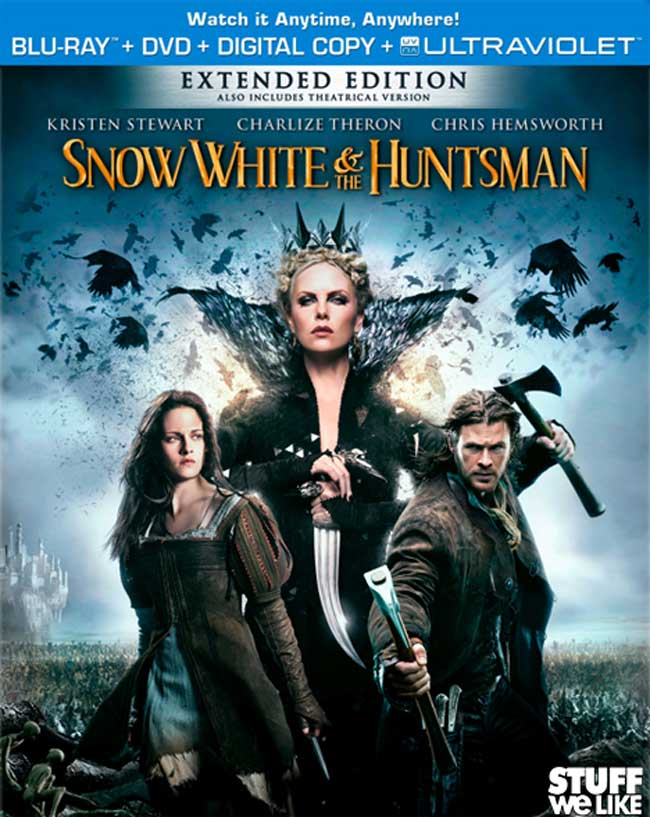 Snow White & The Huntsman Bluray Review