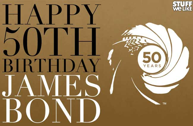 James Bond 50th Anniversary