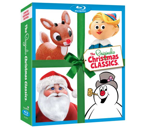Giveaway: The Original Christmas Classics Bluray