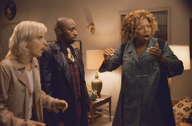 Anna Faris, Eddie Griffin, and Queen Latifah in Scary Movie 3