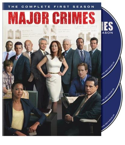Major Crimes Season One on DVD