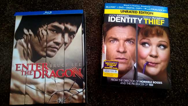 Enter the Dragon and Identity Thief