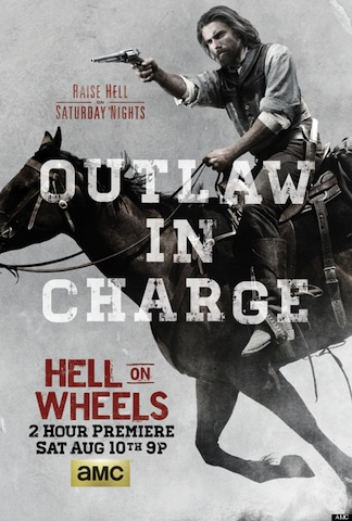 Hell on Wheels Season Three Premiere