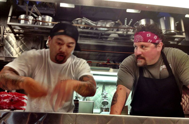 Roy Choi and Jon Favreau
