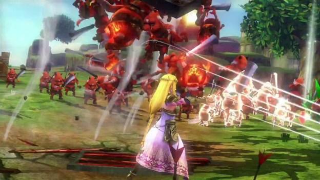 Hyrule Warriors Trailer with Zelda and Baton