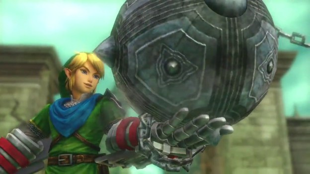 Hyrule Warriors Trailer with Link and a Gauntlet