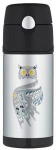 Snow Owl Thermos Bottle