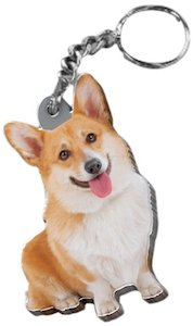 Welsh Corgi key chain