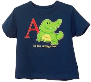 Toddler Alligator t-shirt