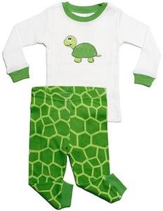 Turtle pajamas for kids