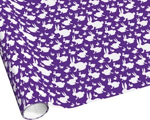 Bunny Rabbit Wrapping Paper