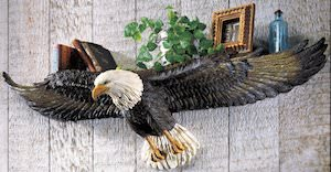 Bald Eagle Wall Shelf