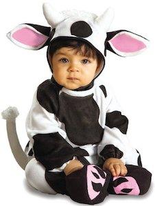 Cozy Cow newborn costume