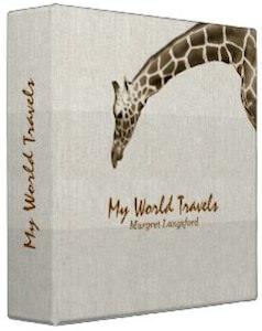 giraffe binder with message