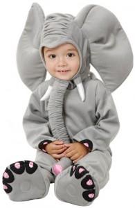 Grey Elephant Costume for Children