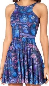 Midnight Owl Dress