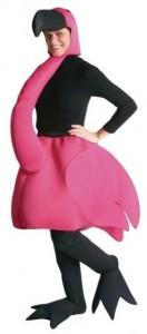 Pink Flamingo Adult Costume