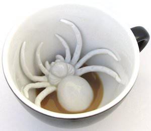 Spider Creepy Mug