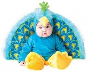 Peacock Infant Costume
