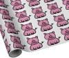 Pink Piggy Gift Wrap