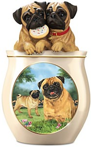 Pug Cookie Jar