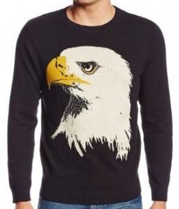 Bald Eagle Head Sweater