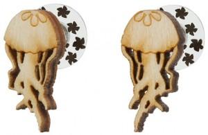 Jellyfish Stud Earrings