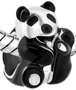 Panda Bear Bead Charm