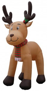 Reindeer 15 foot Outdoor Inflatable