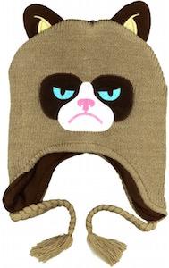 Grumpy Cat Winter Hat