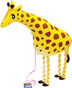 My Own Pet Giraffe Balloon