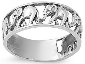 Migrating Elephants Ring