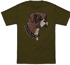 Boxer Dog Portrait T-Shirt