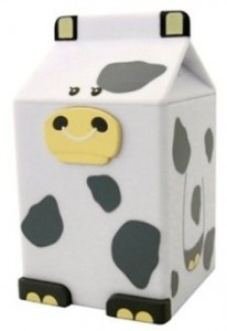Cow Milk Carton Fridge Alarm