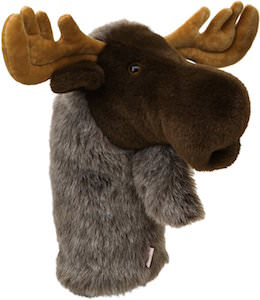 Moose Golf Club Head Cover
