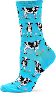 Women's Cute Cow Socks