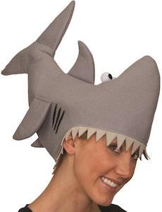 Bitting Shark Costume Hat