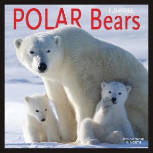 Canadian Geographic Polar Bears 2016 Wall Calendar