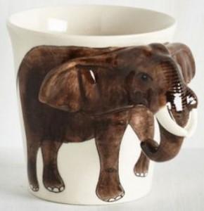 Elephant Mug 3D