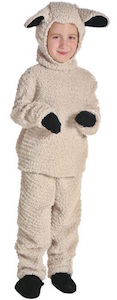 Cute Kids Sheep Costume