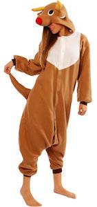 Reindeer Kigurumi Costume Pajama
