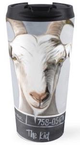 The Kid Goat Travel Mug