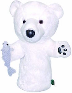 Polar Bear And Fish Golf Club Head Cover