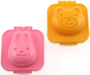 Bunny And Bear Egg Mold's