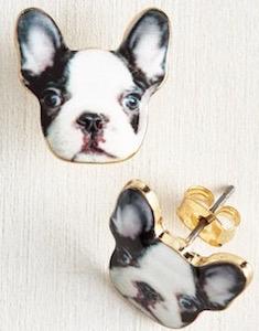 Boston Terrier Earrings