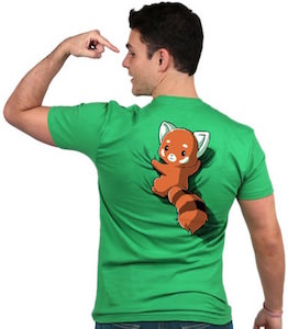 Red Panda On Your Back T-Shirt