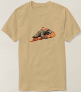 Pizza Sloth T-Shirt
