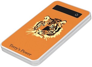 Personalized Tiger Power Bank