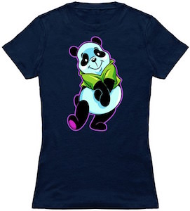 Cute And Colorful Panda T-Shirt
